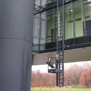 канатная выдвижная лестница