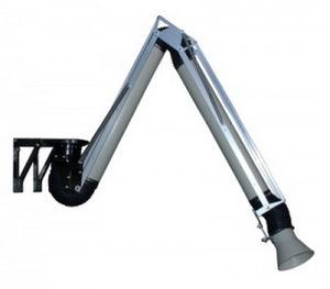 настенный всасывающий рукав / жесткий / для систем вытяжки сварочных дымов / для всасывания
