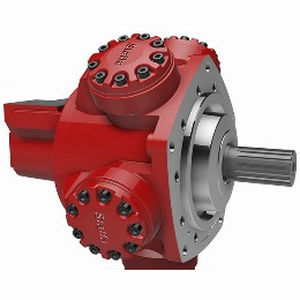 гидравлический двигатель с радиальным поршнем / с неподвижным цилиндром