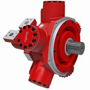 гидравлический двигатель с радиальным поршнем / с изменяемым объемом цилиндра / низкая скорость / с двойным рабочим объемом цилиндров