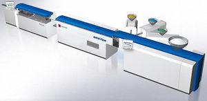 экструзионная линия для производства гибкой трубки для упаковки из ПЭНД/полипропилена