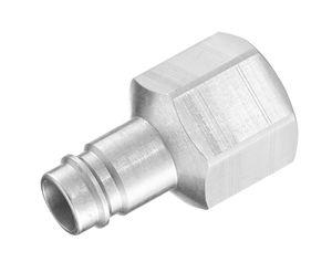 гидравлический адаптер / резьбовой / рифленый с внутренней резьбой / из стали