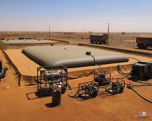 резервуар хранение газойля