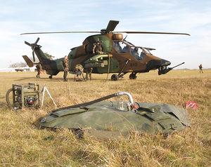 перевозимый резервуар на вертолетах