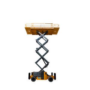 ножничный подъемник на колесах