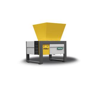 измельчитель для картона / электронные отходы / бумага / с 4 валами