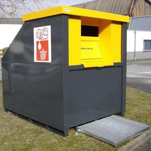 контейнер для отходов из стали