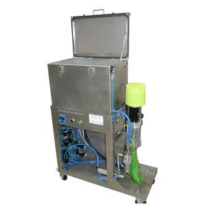 автоматическая очистительная установка / погружением / компактная / с промывкой