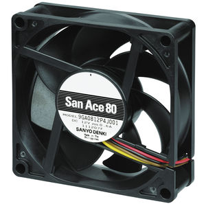 вентилятор для электроники / осевой / для охлаждения / высокое давление