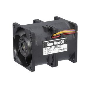 вентилятор для электроники / осевой / для циркуляции воздуха / высокое давление