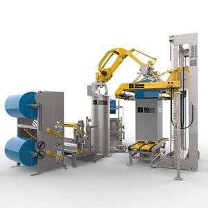 роботизированная машина для обертывания груза на поддоне
