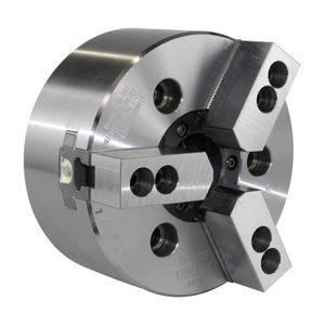 автоматический токарный патрон / трехкулачковый / с проходом в центре / из сплава