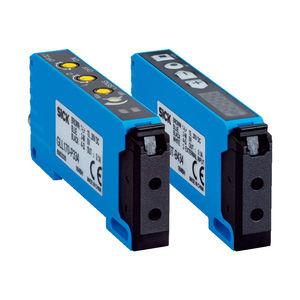 оптоволоконный фотоэлектрический обнаружитель / тип заграждения / прямоугольный / светодиод