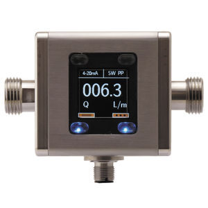 электромагнитный расходомер / для жидкостей / ультракомпактный / с поплавком с металлической трубкой
