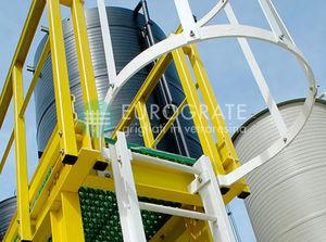 выдвижная лестница из стеклопластика