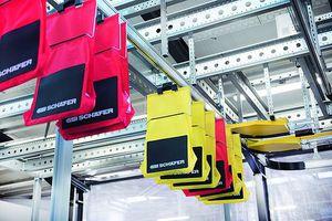конвейер с валками / горизонтальный / модульный / автоматический