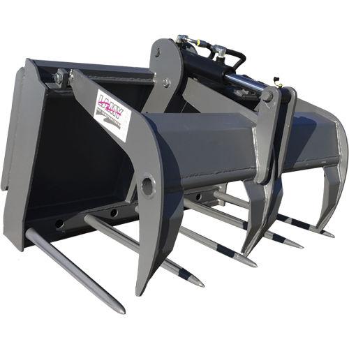 сельскохозяйственный вилочный захват / для компактных погрузчиков / для трактора / для сельскохозяйственной техники