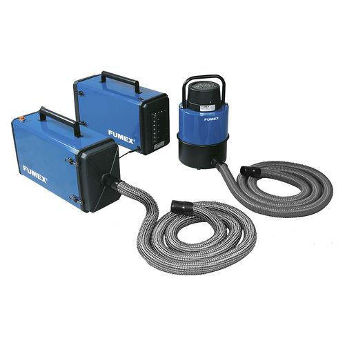 мобильный дымоуловитель / для промышленности / для сварки / с сухой фильтрацией