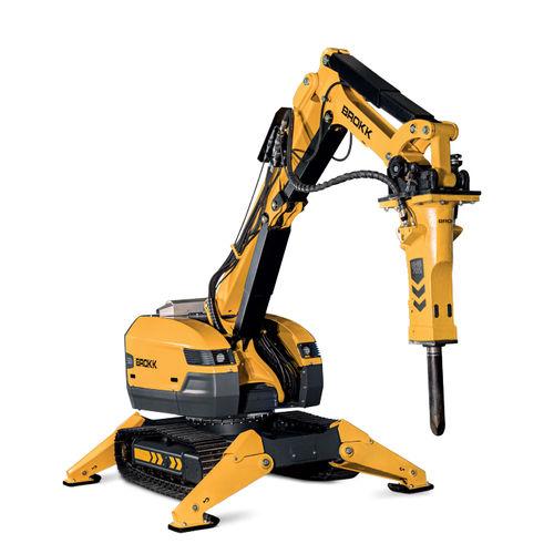 робот для демонтажа с дистанционным управлением