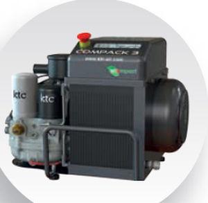 воздушный компрессор / переносной / с электродвигателем / винтовой