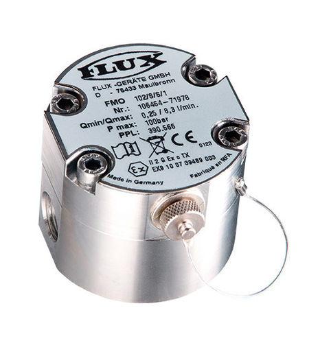 расходомер с овальными шестернями / для масла / для топлива / для химических продуктов