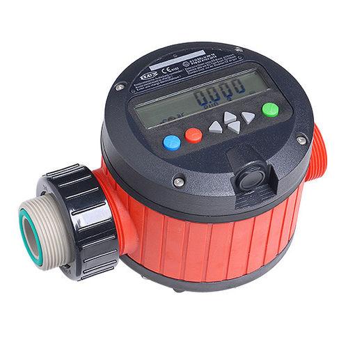 расходомер с подвижным диском / для топлива / для химических продуктов / для кислоты