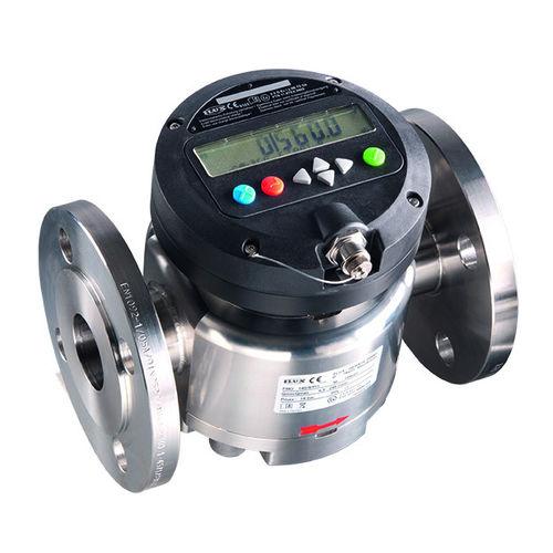 расходомер с овальными шестернями / для топлива / для химических продуктов / для кислоты