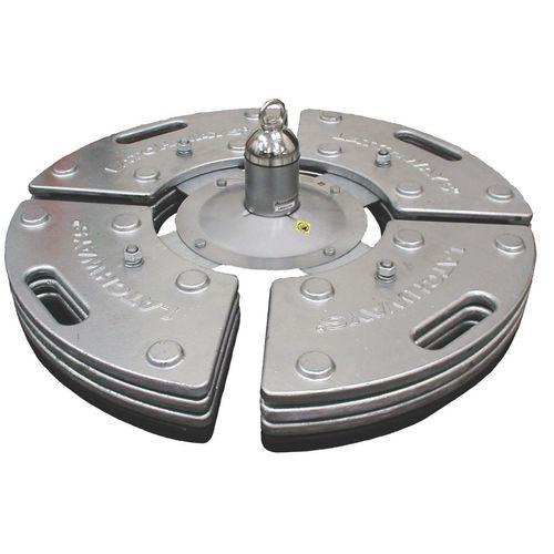 анкерное страховочное устройство из гальванизированной стали