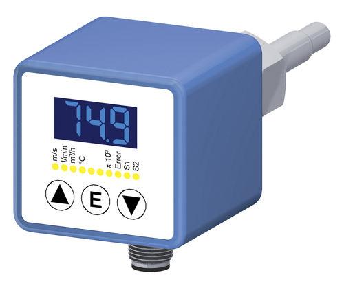 массовый расходомер / с поплавком / термический / для жидкостей
