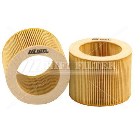 воздушный фильтрующий элемент / для тонкой фильтрации / складчатый / для общего применения