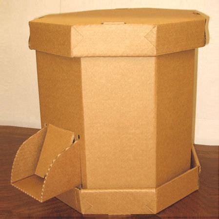 октабин из картона