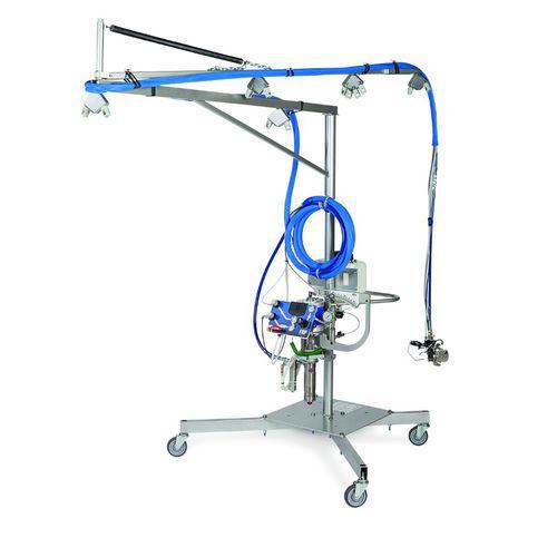 машина для одновременного напыления