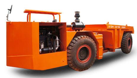 шарнирный думпер / дизельный / для подземной шахты
