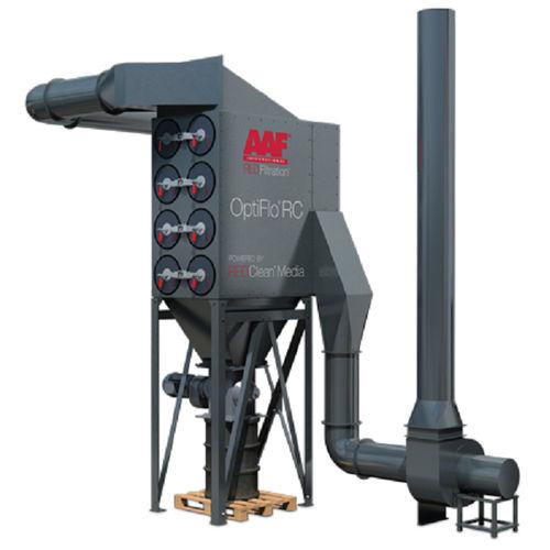пылеуловитель с картриджем / очистка пульсирующей струей / компактный / модульный