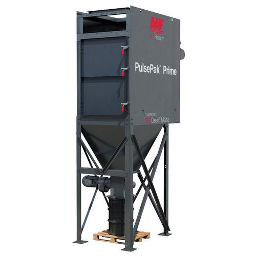 пылеуловитель с картриджем / очистка пульсирующей струей / компактный
