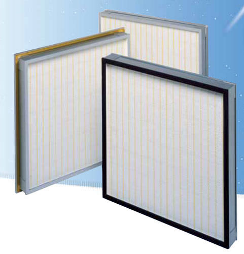 воздушный фильтр / панельный / складчатый / высокая эффективность