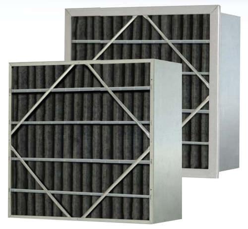 воздушный фильтр / панельный / с активированным углем / складчатый