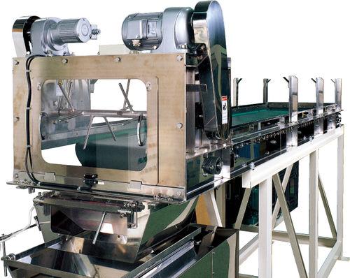 конвейер с роликами / для сельского хозяйства и пищевой промышленности / для продукта питания / автоматический