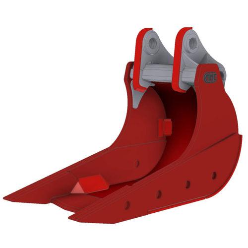 стандартная воронка / для гидравлического экскаватора