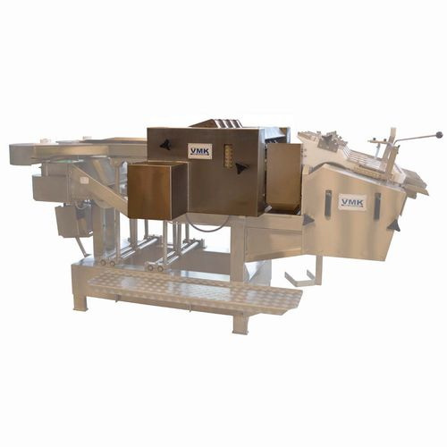 автоматическая машина для снятия рыбьей чешуи