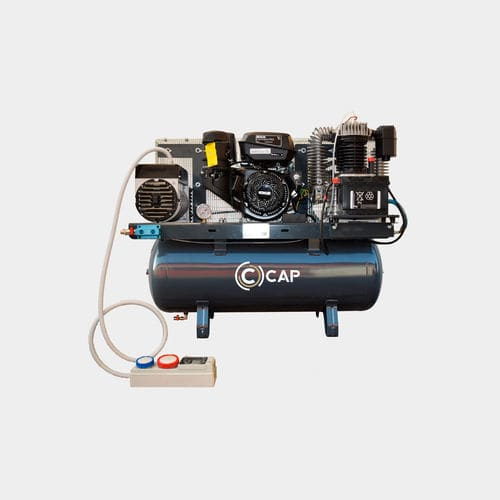 воздушный компрессор / стационарный / с дизельным двигателем / с бензиновым двигателем