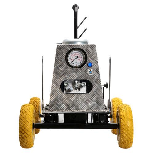 гидравлический блок с электродвигателем / для стройки / на колесах