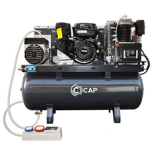 воздушный компрессор / стационарный / с бензиновым двигателем / поршневый