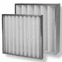 фильтрующий материал с сетчатой металлической решеткой
