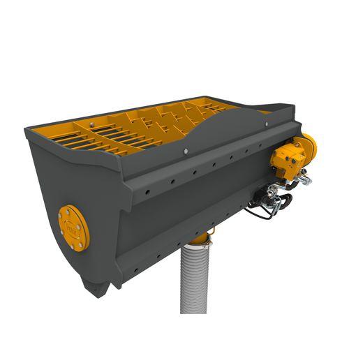 воронка бетономешалка / для погрузчика