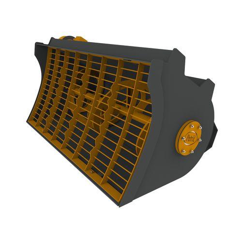 воронка бетономешалка / для гидравлического экскаватора / для компактного погрузчика / для погрузчика