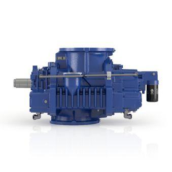 роторно-лопастный компрессор / воздушный / для газа / фиксированный