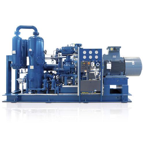компрессорная установка для биогаза