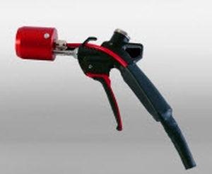 обдуватель с воздухозаборником / металлическая насадка / легкий / компактный