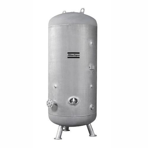 резервуар для сжатого воздуха / из металла / морской / высокое давление